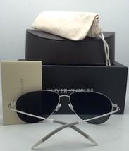 New Oliver Peoples Sunglasses Floriana 1225S 5036F9 56-17 Gold & Bone w/ Mirror - $379.99