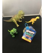 Realistic Dinosaur Toys Assorted Lot + Marbles Jurassic Dinosaur Figures - $11.98
