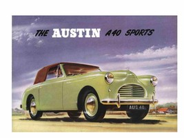 AUSTIN A40 OWNERS & PARTS MANUALs 150pg for Countryman Somerset Pickup S... - $23.99