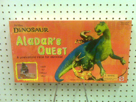 "NEW - DINOSAUR ALADAR'S QUEST BOARD GAME - OVER 14 "" TALL - MADE IN 2000 - $38.99"