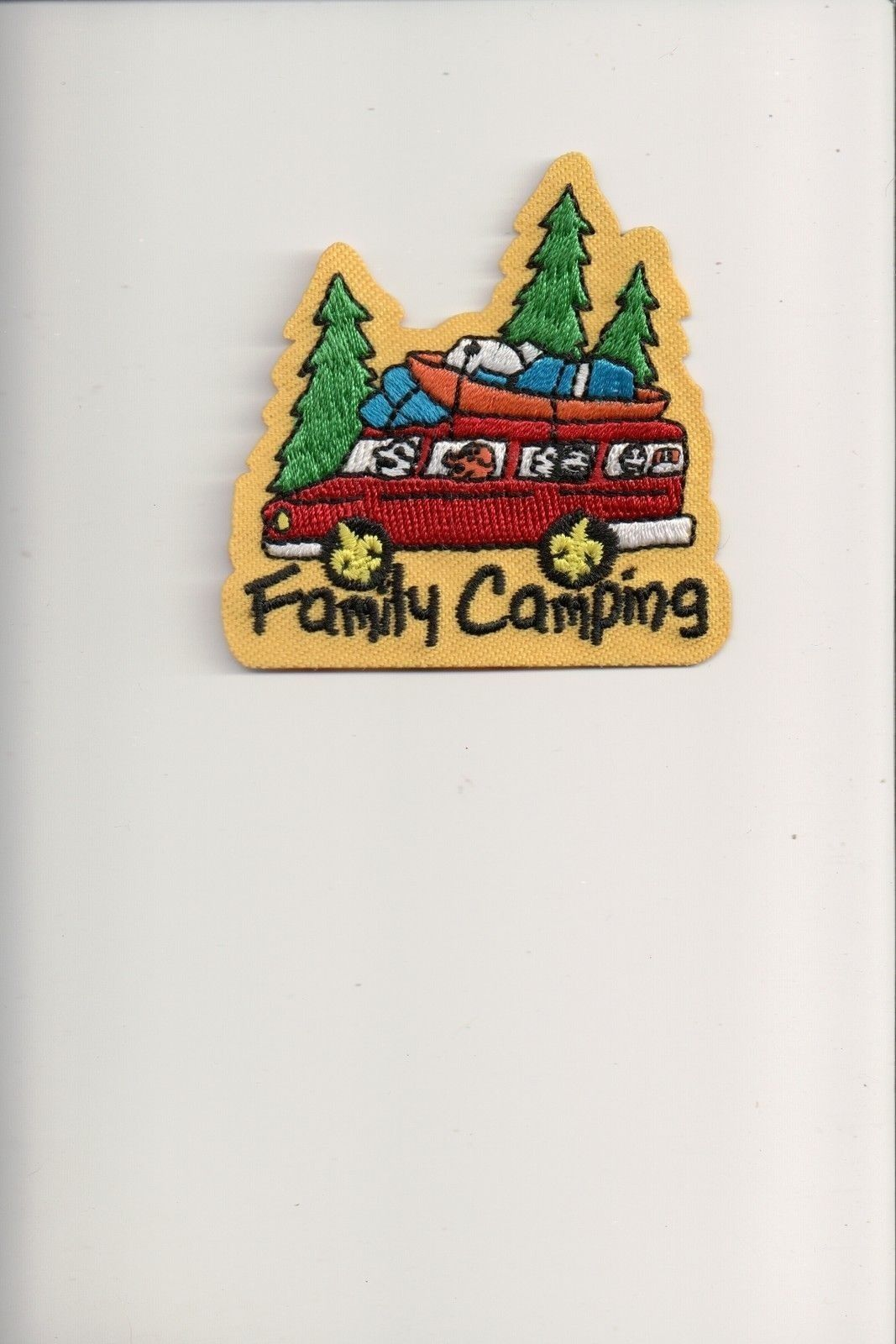 Family Camping patch
