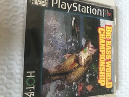 Playstation One Ps1 Big Bass World Championship Game - $2.99