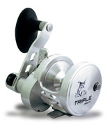 RIGHT Hand Omoto Triple Multiplier Pro Ocean Reel deep sea 50# Drag 2 sp... - $395.00