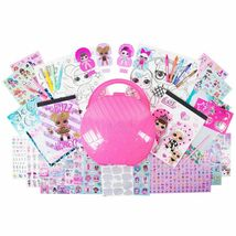 LOL! Surprise Ultimate Stylin' Studio Activity Dolls with Pink Carrying Case NIB image 3