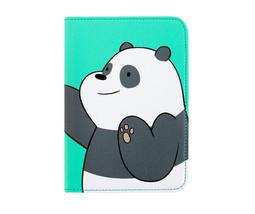 We Bare Bears Passport Holder Panda Green Travel Blocking Case Cover ID ... - $20.48