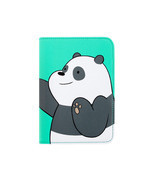 We Bare Bears Passport Holder Panda Green Travel Blocking Case Cover ID ... - £15.74 GBP