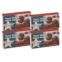 Lammes Candies Texas Chewie Pecan Praline 2 Ounce Gift Box - Pack of 4 image 1