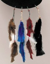Feather Tail Clip PURPLE Sold Each Single (1) - $4.94