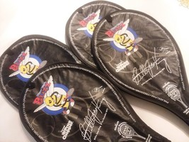 Promotional Billie Jean King Tennis Racquets (Set of 4) NY Buzz Team - $49.49