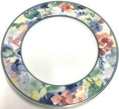 "Mikasa Fine China Garden Flair Dinner Plate 10 7/8"" M5003 Multi Color Fl... - $8.31"
