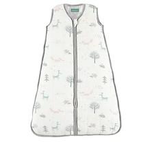 NEW Molis & Co Muslin Sleeping Sack Bag Forest Fox Print (XL - 18+ mo) - $29.99