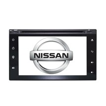 "6.2"" Touchscreen GPS Navigation Bluetooth Multimedia Radio for Nissan Versa - $227.69"