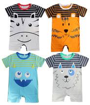 StylesILove Cute Animal Baby Toddler Boy Costume Jumpsuit - $10.99