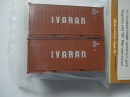 Jacksonville Terminal Company # 205358 IVARAN 20' Standard Container N-Scale image 1