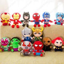 14 Avengers 4 Superhero all Marvel staff Plush toy Dolls Captain America... - $7.99