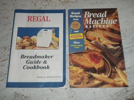 Regal Bread Maker Machine Guide Manual Cookbook Recipes K6750 C6750 - $14.01