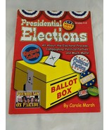 Presidential Elections Activities by Carole Marsh Grade 4-8 - $4.95