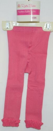 RuffleButts RLKCA060000 Candy Footless Ruffle Tights 6 to 12 Months