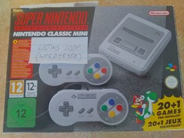 Super Nintendo SNES Classic Edition Retro Game Console - $350.00