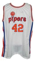 Connie hawkins  42 pittsburgh pipers aba retro basketball jersey white   1 thumb200