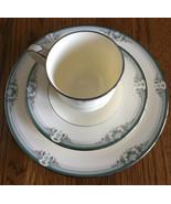 Noritake Lydenwood 4707 Cup Saucer Salad Plate Set Lot Bone China 3 Pc. - $22.76