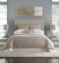 Sferra Elyse Camel King Sheet Set 4 PC Tan 100% Egyptian Cotton Sateen I... - $499.00