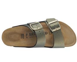 Birkenstock Arizona Icy Metallic Stone Gold  Fashion Narrow Sandals Size... - $119.99