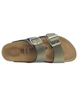 Birkenstock Arizona Icy Metallic Stone Gold  Fashion Narrow Sandals Size... - £87.67 GBP