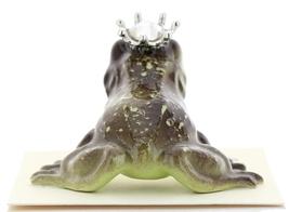 Hagen-Renaker Miniature Frog Prince Kissing Birthstone 04 April Diamond image 3
