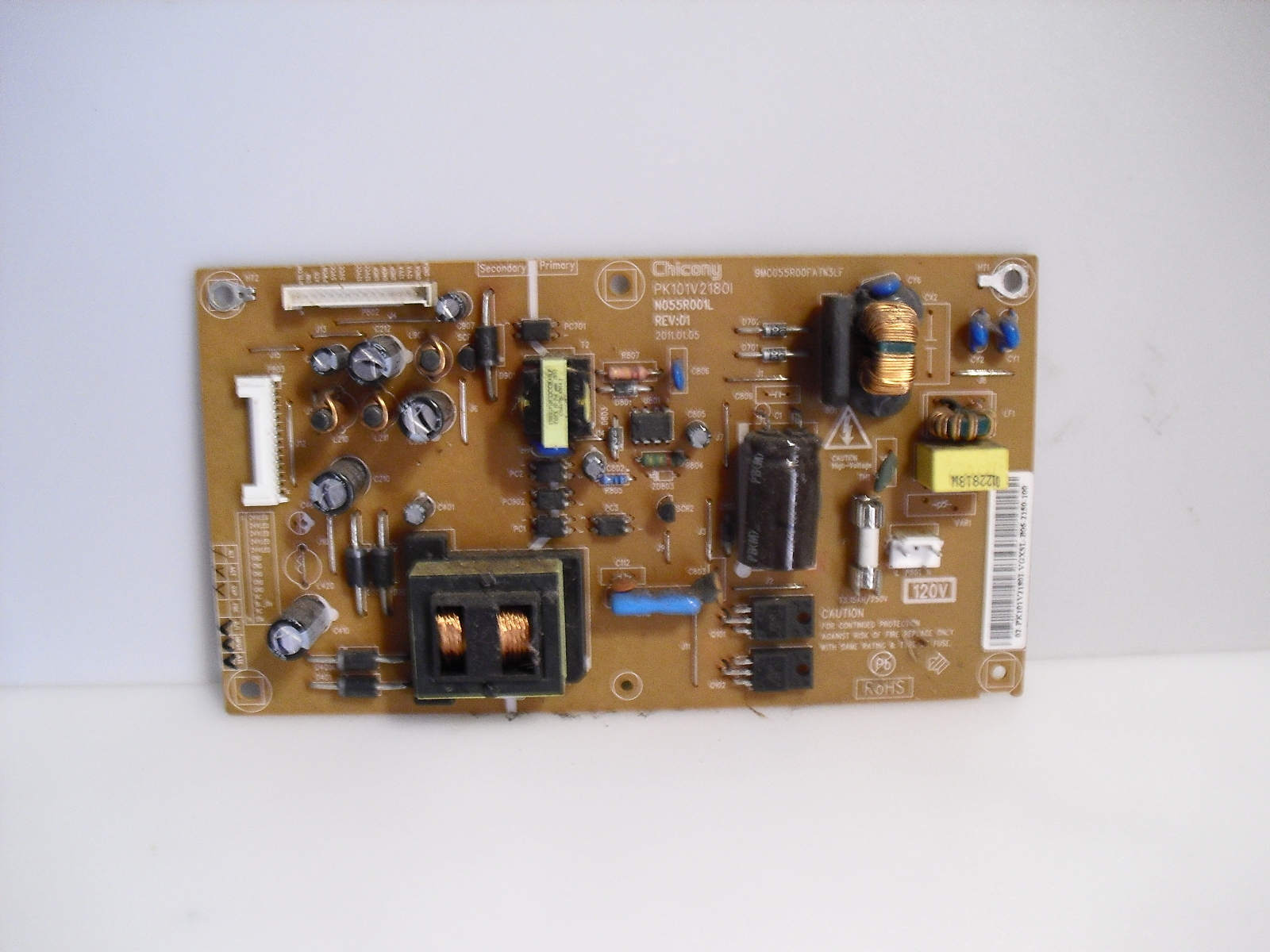 Primary image for pk101v21801  power  board   for  toshiba   24sLv411u