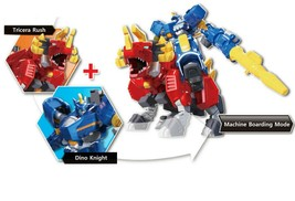 Miniforce Force Triga Super Dinosaur Power Action Figure Transforming Toy Robot image 2