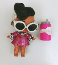 LOL Surprise Doll Glitter Sparkle Dollface Baby With Accessories - $12.59