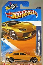 2012 Hot Wheels KMART Exclusive #128 HW All Star 8/10 LAMBORGHINI ESTOQU... - $10.00