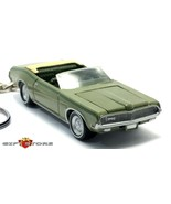 HTF KEY CHAIN 1969/1970 GREEN MERCURY COUGAR CONVERTIBLE XR7 NEW LIMITED... - $44.98