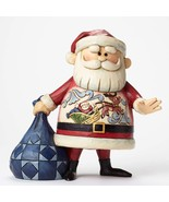 Santa with Sleigh Scene Figurine - $52.32
