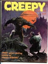 Creepy #4 1965- Frank Frazetta cover-Warren Horror Magazine VF+ - $100.88