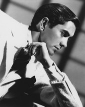 Tyrone Power 8x10 Photo suave glamour pose with cigarette - $7.99