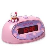 Hello Kitty Pink Digital Alarm Clock and Mini FM Radio - $49.99