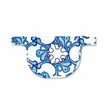 Naforye Baby Carrier Teething Bib (Pacific Waves) - $12.95