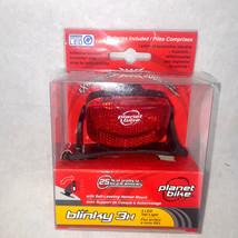 Planet Bike Blinky 3H, 3 LED Helmet Taillight with Self Leveling Helmet ... - $11.29