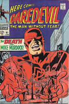 Daredevil Comic Book #41 Marvel Comics 1968 FINE+/VERY FINE- - $26.04