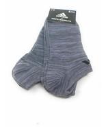 6 Pairs Adidas Men's Sz 6-12 CLIMALITE Cushioned Compression Socks Wicks... - $21.78