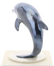 Hagen-Renaker Miniature Ceramic Wildlife Figurine Dolphin Jumping on Base Large image 3