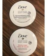 2 DOVE Nourishing Body Care Rich Nourishment Cream 2.53 Fl. Oz Sealed - $8.90