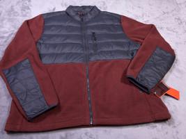 HAWK E & Co. Mens Full Zip Down Filled JACKET Size XXL NWT NEW - $31.80