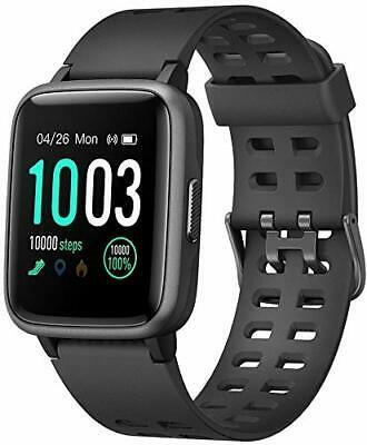 Primary image for Fitness Tracker with Heart Rate Monitor, Activity Tracker, Step Black