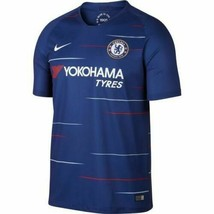 Men's Nike Chelsea Home Soccer Football Jersey 2018-19, Rush Blue/White, NEW! - $50.99