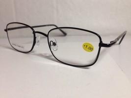Cheetah Eyewear Women's Spring Temple Reading Glasses +1.00 Black #STSP4 - $8.70