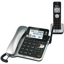 AT&T CL84102 DECT 6.0 Corded/Cordless Phone System with Digital Answering System - $99.44