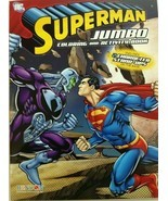 New Superman Jumbo Coloring And Activity Book Includes Two Character Sta... - £4.11 GBP